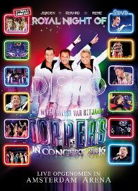 Cover Gerard - Jeroen - Rene - Toppers In Concert 2016 - Royal Night Of Disco [DVD]